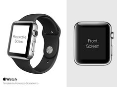 Apple Watch Free Template PSD by Francesco Scalambrino