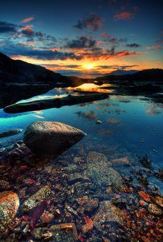 Rocky Sunset in Alaska by Carlos Rojas on 500px