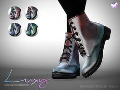 Sims 4 CC's - The Best: Aprilia Boots Recolor by LuxySims