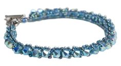 Crystal Delight bracelet from Beadhive beads in Minneapolis.