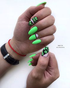 Best Nail Polish Colors For Olive, Tan, Light, Medium Skins - The Finest Feed Neon Nails, Dope Nails, Pink Nails, My Nails, Disney Acrylic Nails, Almond Acrylic Nails, Cute Acrylic Nails, Best Nail Polish, Nail Polish Colors