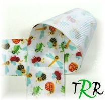 PRINTED RIBBON - Wings 'n Things - Bugs - TRR Designs