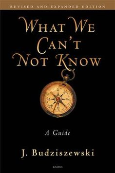 What We Can't Not Know.  An awesome book.  Finished July, 2016.