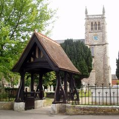 St Mary's Church, Alverstoke, Gosport, England.  I've sang here many times, the next time will be for 'The Saviour'.