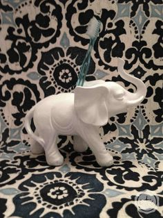 DIY Elephant Toothbrush Holder | Happily Ever After, Etc.