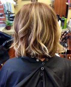 A Courtney Kerr inspired textured bob with ombré highlights | Yelp
