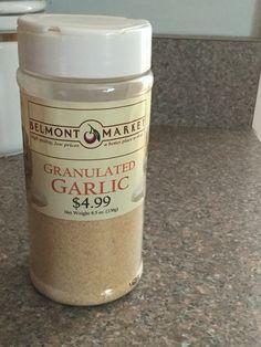Gluten free spices, Belmont Market. Great prices!!