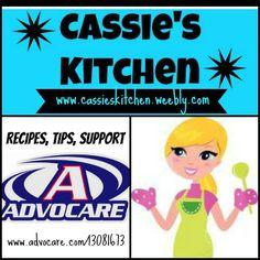 www.cassieskitchen.weebly.com  www.advocare.com/13081673