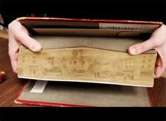 UI journalism student Talya Miller made a short video animation of one of our fore-edge paintings last month. I made it into a gif.  You can...