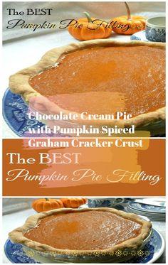 Sweet Potato or Libby's Famous Pumpkin Pie #pumkin #pumkinpie #usa #hallowen #pumpkinnobake #nobake