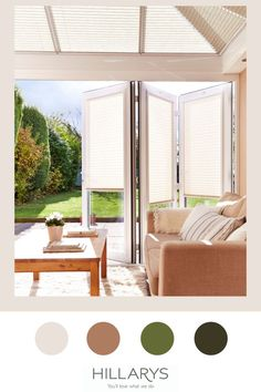 There's nothing more satisfying than throwing open your conservatory windows on a hot summer's day and with our Perfect Fit blinds it couldn't be easier. PerfectFit blinds can be fitted into uPVC windows: they clip into the beading of your uPVC windows to sit snugly within the frame like here in this bifold door. Fixed firmly in place, with no drilling or control cords required, these blinds give you a streamlined, fuss-free finish. View more. Perfect Fit Blinds, Upvc Windows, Door Makeover, Conservatory Ideas, Patio, Doors, Places, Beading, Inspiration