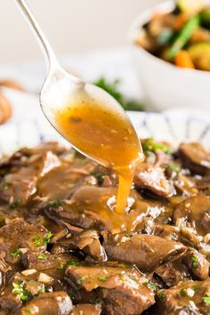 Making Beef Tips just got even easier when made in your crockpot or instant pot for fall-apart-tender and juicy steak tips with a brown gravy! Beef Tip Recipes, Sirloin Steak Recipes, Steak Tips, Sirloin Steaks, Crockpot Recipes, Beef Tips Slow Cooker, Beef Tips And Rice, Cooking White Rice, Dump Meals