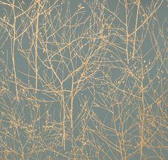 Wallpaper: floral pattern - WINTERTREE II - Larsen