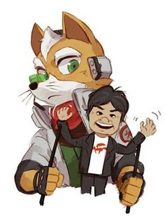 smash bros wii u fox Fox Mccloud, Fox Games, Fox Pictures, Furry Comic, Star Fox, Anime Furry, Cute Games, Nintendo, Fox Art