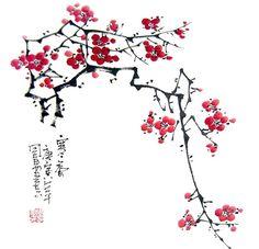 Plum Blossom,33cm x 33cm(13〃 x 13〃),2396004-z