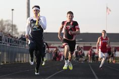 Hillsdale competes in the Forrest Pruner Invitational at Crestview High School on Friday, April 24, 2015.