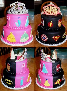 Children S Birthday Cakes This Was For A Brother Sister Birthday