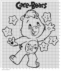 New Care Bear Chart :) Click on charts for larger view:) Large Chart Small Chart Don't forget to share this post with the bu...