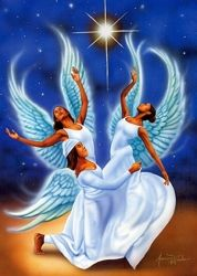 african american angel images | African American Angel Gifts & Collectibles