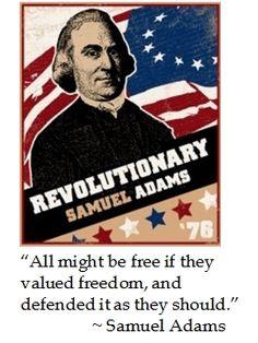 Samuel Adams on #Freedom #quotes