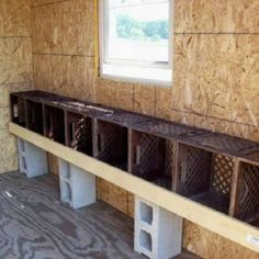 Simple And Easy Backyard Chicken Coop Plans – Onechitecture – DIY Garten Box