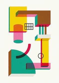Sophia Bouala, Graphic Artist, Colorful and distinct way of expression