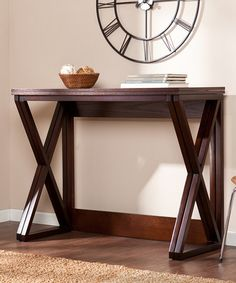 Love this Espresso Derby Counter Height Universal Table on #zulily! #zulilyfinds