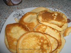 Kokosmehlpfannkuchen - 2 Eier – 3 TL Kokosmehl, gut gehäuft – 7 EL Kokosmilch