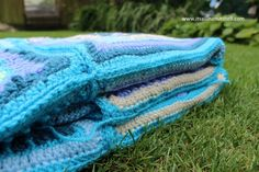 The time has come to assemble all 35 of those fabulous squares making up Nuts about Squares CAL into one amazing blanket. I have purposefully taken two weeks for assembling our blanket because to m…
