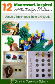 Zacchaeus Montessori Inspired Bible Lesson - www.christianmontessorinetwork.com