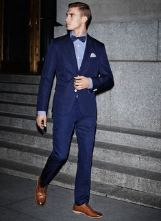 Spice it up with a blue suit from h amp m nye outfit 2015 partylook