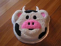 cute cow cake