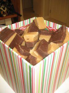 Easy Peanut Butter/Chocolate Fudge