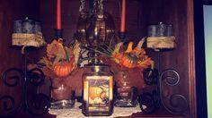 Fall decor for living room