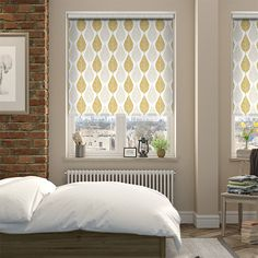 Choices Winter Leaf Biscotti Roller Blind from Blinds 2go