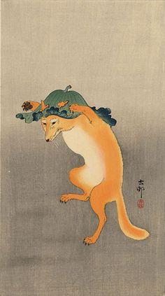 Ohara Koson, estampes d'animaux | Vegactu