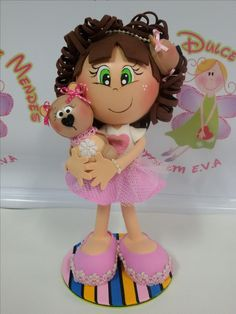 Foam Crafts, Diy And Crafts, Arts And Crafts, Softies, Plushies, Cute Stuffed Animals, Clothespin Dolls, Craft Tutorials, Art Dolls