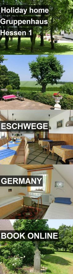 Hotel Holiday home Gruppenhaus Hessen 1 in Eschwege, Germany. For more information, photos, reviews and best prices please follow the link. #Germany #Eschwege #travel #vacation #hotel