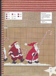 ♥Meus Gráficos De Ponto Cruz♥: Árvore do Papai-Noel em Ponto Cruz