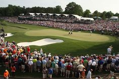 The PGA Tour Wells Fargo Championship at Charlotte's Quail Hollow Club