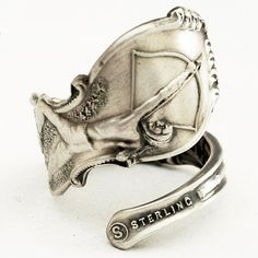 Indian Archer Spoon Ring