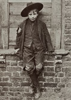 Spitalfields Nippers - Taken by Horace Warner in 1912 in Spitalfields England, these images of poverty stricken children show the horrible existences they had to endure just to survive.