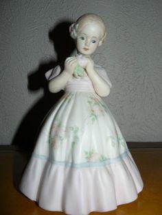 Vintage 1962 Boyer Porcelain Figurine