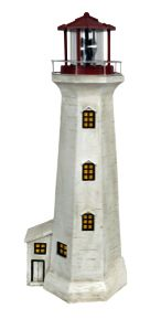 You will always feel like the #beach is close to home, when you add this lighthouse #garden light to your outdoor décor.