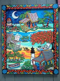 PAM HOBBS Painting, Cooking and living in the Florida Keys