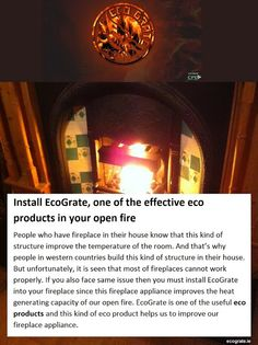 Use in your existing Install and get your desired warmth. Read more through the link below . Eco Products, Open Fires, Why People, Building, Link, Buildings