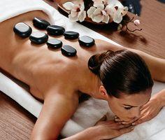 Souprava na masáž horkými kameny