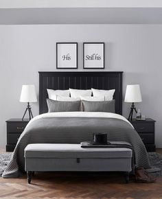 Home Staging in Fall, Decorating Ideas to Create Spacious and Light Interiors is part of Ikea bedroom If you plan to sell your property fast and for top dollar during a cold part of the year, the ri - Bedroom Themes, Bedroom Styles, Home Decor Bedroom, Modern Bedroom, Bedroom Rugs, Bedroom Rustic, Masculine Master Bedroom, Grey Bedroom Design, Master Bedrooms