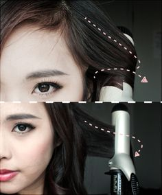 tutorial  pin-up style with curler