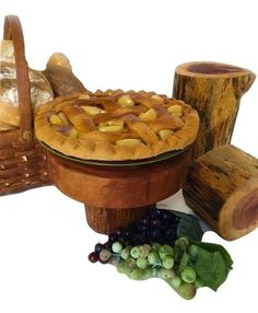One of the best hand crafted pine wood cake stands I've seen yet! Pin it now or find out more at http://www.EverythingDawnBakeryCandles.